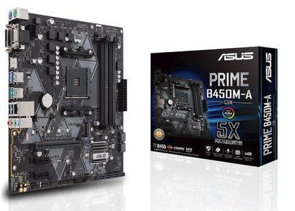 Asus/华硕 PRIME B450M-A台式机电竞游戏主板M.2固态