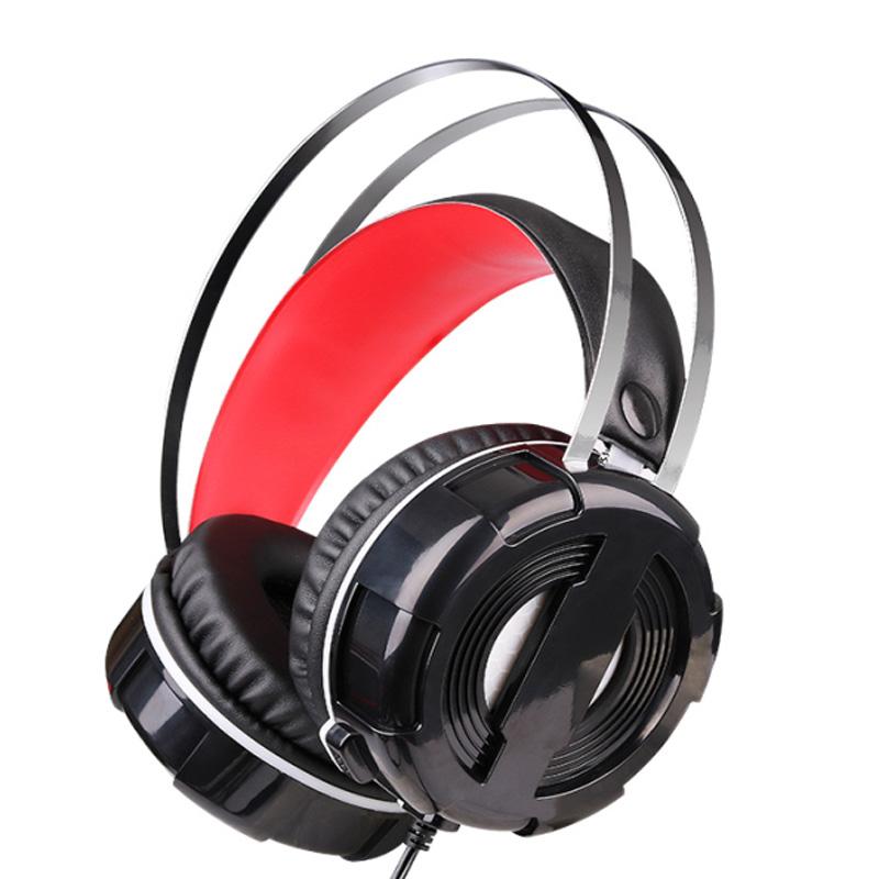 梅赛德V3台式笔记本重低音游戏耳麦头戴式吃鸡LO游戏电脑耳机